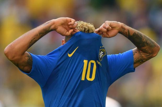 """Cacalo: """"Seleção que jogou contra a Costa Rica ainda não foi o Brasil"""" OLGA MALTSEVA/AFP"""