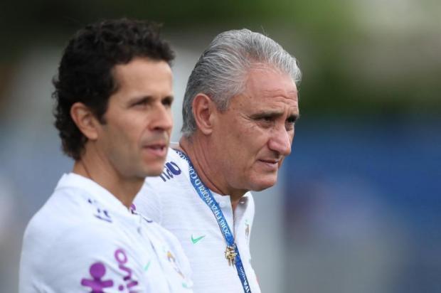 """Zé Alberto Andrade: """"Está baixa a imunidade da Seleção"""" Lucas Figueiredo/CBF/Divulgação"""