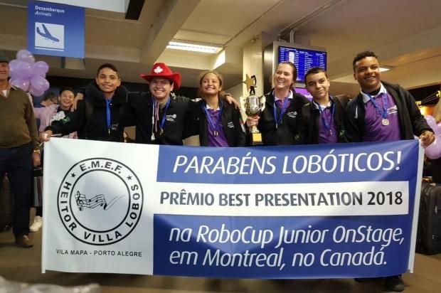 Escola da Vila Mapa conquista prêmio em mundial de robótica Arquivo Pessoal/Divulgação