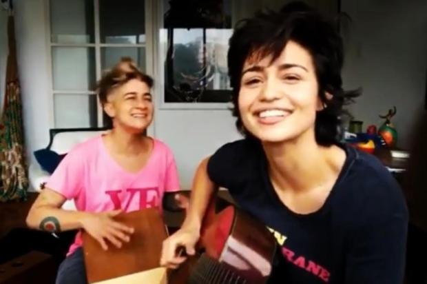 Nanda Costa e namorada lançam música para o Dia do Orgulho LGBTQ Instagram/Reprodução
