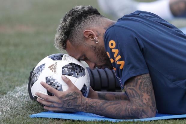 """Guerrinha: """"Jogo contra o México é o da afirmação para a Seleção Brasileira"""" Adrian DENNIS/AFP"""