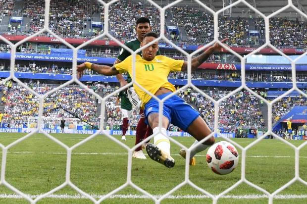 "Cacalo: ""O Brasil venceu ao natural"" Fabrice COFFRINI/AFP"
