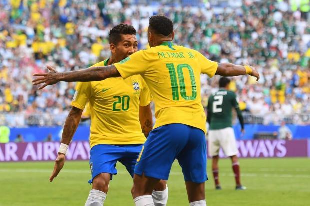 """Guerrinha: """"Brasil se classificou porque era o melhor"""" MANAN VATSYAYANA/AFP"""