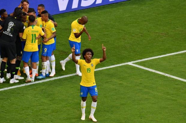 """Guerrinha: """"Brasil x Bélgica merecia ser a grande decisão"""" SAEED KHAN/AFP"""