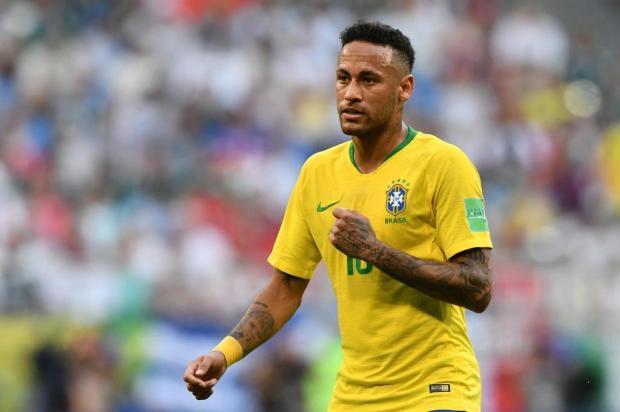 """Luciano Périco: """"Deixem o Neymar em paz"""" Fabrice COFFRINI/AFP"""