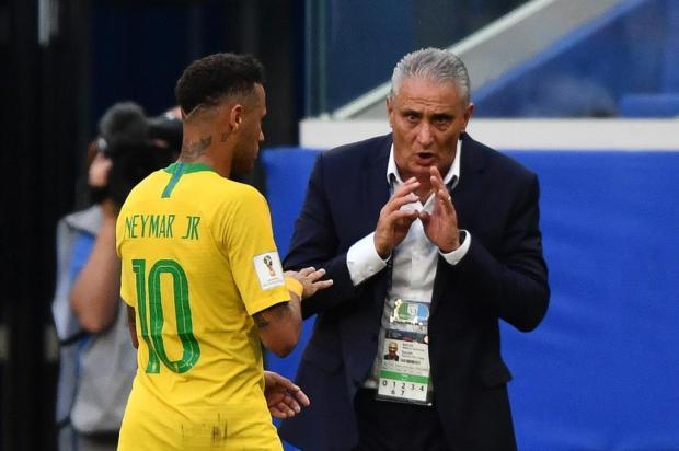 """Zé Alberto Andrade: """"Tite administra a Seleção como uma corporação"""" Fabrice COFFRINI/AFP"""