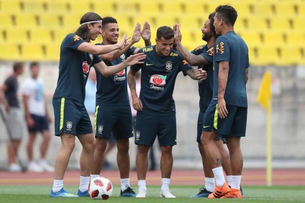 """Cacalo: """"Só nas semifinais a Seleção terá um adversário à altura"""" Lucas Figueiredo/CBF/Divulgação"""