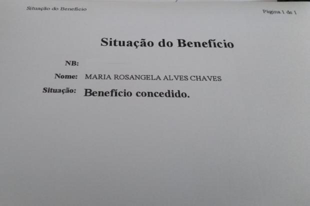 Após reportagem do Diário, moradora de Eldorado do Sul consegue receber aposentadoria Arquivo Pessoal / Leitor/DG/Leitor/DG