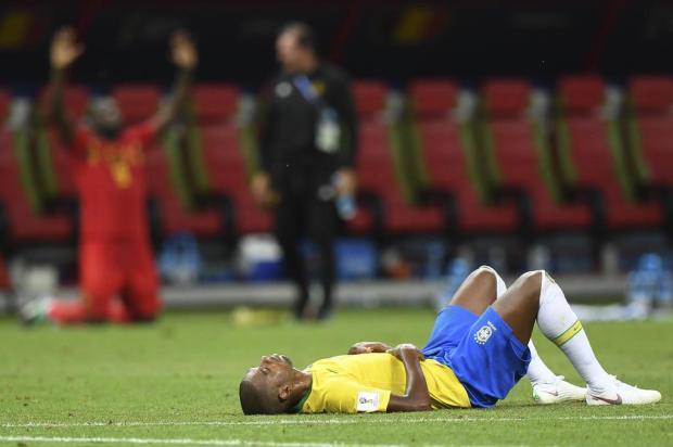 """Neto Fagundes: """"O Brasil lutou. Perder é coisa do futebol"""" Manan VATSYAYANA/AFP"""