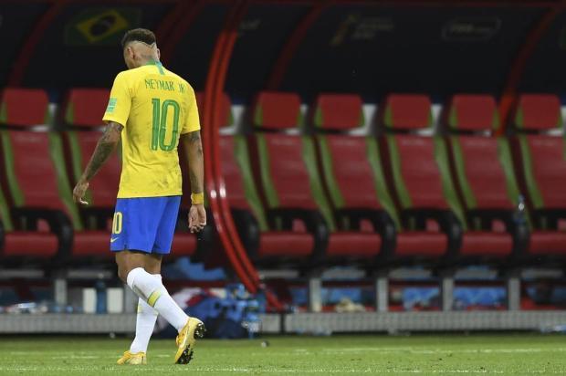 """Neto Fagundes: """"Seleção Brasileira tem de olhar para a frente"""" Manan VATSYAYANA/AFP"""