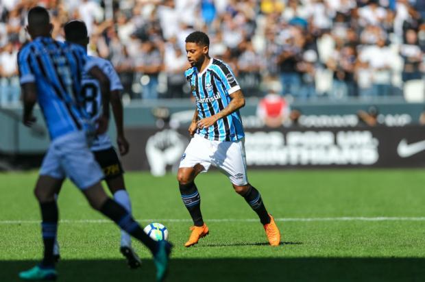 """Cacalo: """"Estava com saudades de ver o Tricolor"""" Lucas Uebel / Grêmio/Divulgação/Grêmio/Divulgação"""
