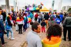 Restinga reúne ativistas e moradores em 1ª Parada LGBT+ da comunidade Omar Freitas/Agencia RBS
