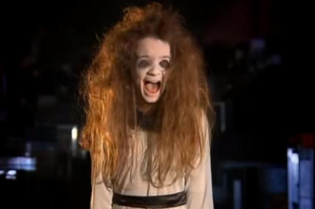 """""""Menina Fantasma"""" do Silvio Santos faz 18 anos na sexta-feira 13; veja como ela está Reprodução / SBT/SBT"""