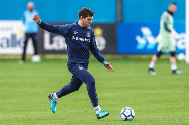 """Luciano Périco: """"Seria o caos perder um titular indiscutível"""" Lucas Uebel/Grêmio/Divulgação"""