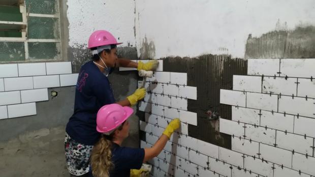 Oportunidade para mulheres: cursos gratuitos para trabalhar na construção civil Divulgação / MRV/MRV