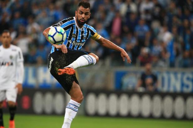 """Guerrinha: """"Maicon regeu o Grêmio e mostrou que não sentiu a ausência de Arthur"""" Jefferson Botega/Agencia RBS"""