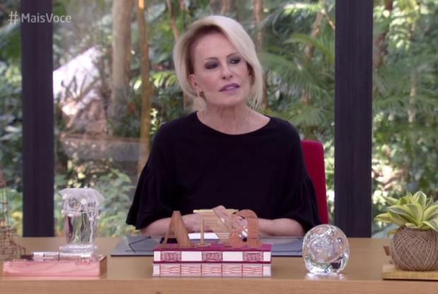 Ana Maria Braga comete gafe e parabeniza ator morto TV Globo / Reprodução/Reprodução