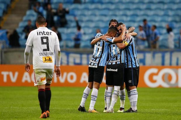 """Cacalo: """"Grêmio voltou a ser o time que queremos"""" Félix Zucco/Agencia RBS"""