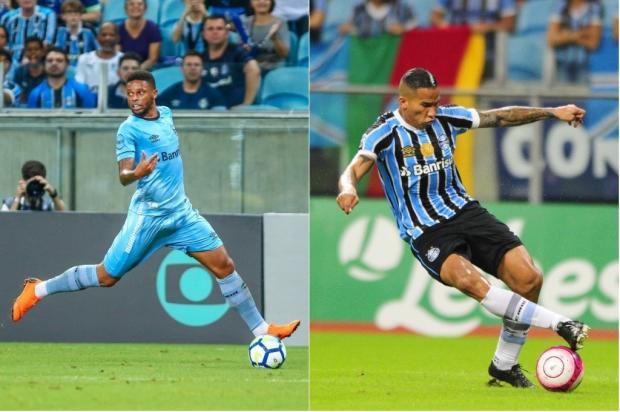 """Guerrinha: """"Só uma hora antes do jogo saberemos se Renato vai escolher André ou Jael"""" Montagem sobre fotos / Agência RBS/Agência RBS"""