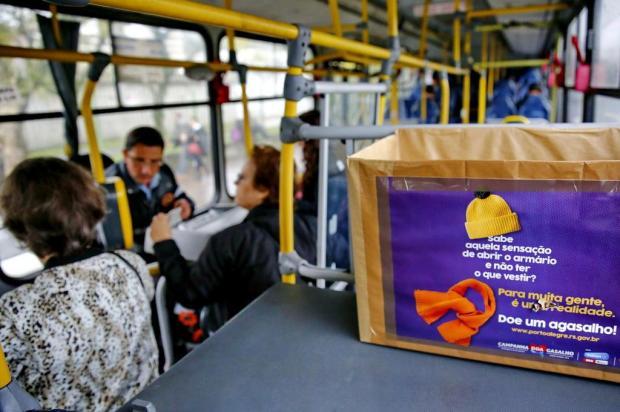 Campanha do Agasalho: Porto Alegre e outras cidades criam alternativas para doar ou receber ajuda Robinson Estrásulas/Agencia RBS