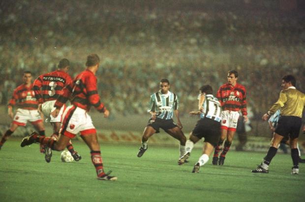 """Cacalo: """"Grêmio e Flamengo na Copa do Brasil traz boas lembranças aos gremistas"""" Valdir Friolin/Agencia RBS"""