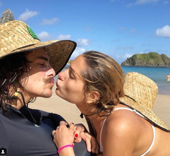 """Bruno Montaleone faz declaração para Sasha: """"Te amo do Rio a Nova York"""" Instagram / Reprodução/Reprodução"""
