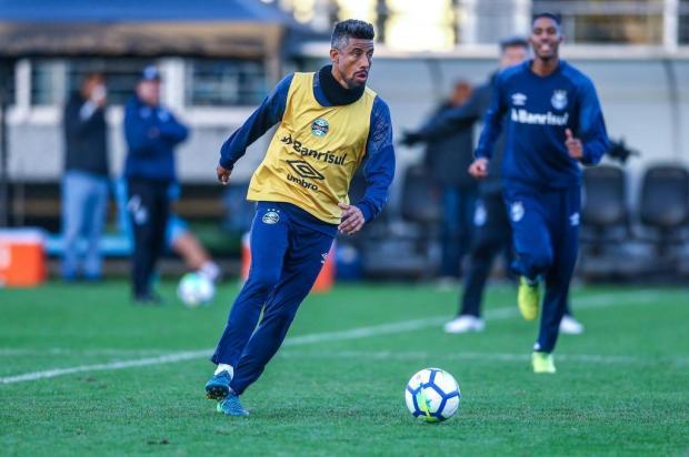 """Guerrinha: """"Jogo entre Grêmio e Flamengo é daqueles que faz o torcedor adiar compromissos"""" Lucas Uebel/Grêmio,Divulgação"""