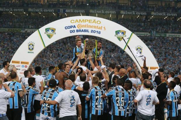 """Cacalo: """"Grêmio tem sido um clube diferenciado neste país"""" Fernando Gomes/Agencia RBS"""