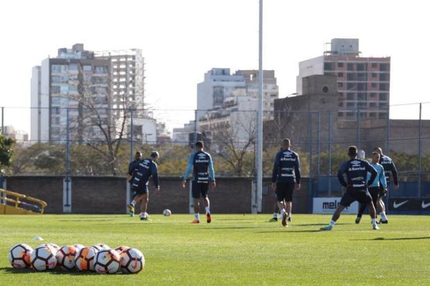 """Cacalo: """"A esperança do tetra para o Grêmio"""" Lucas Uebel / Divulgação Grêmio/Divulgação Grêmio"""