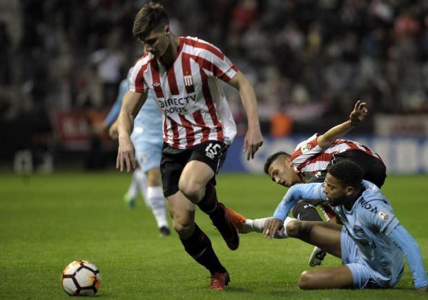 """Cacalo: """"Preciso enfatizar que o Estudiantes é uma excelente equipe de futebol"""" JAVIER GONZALEZ TOLEDO/AFP"""