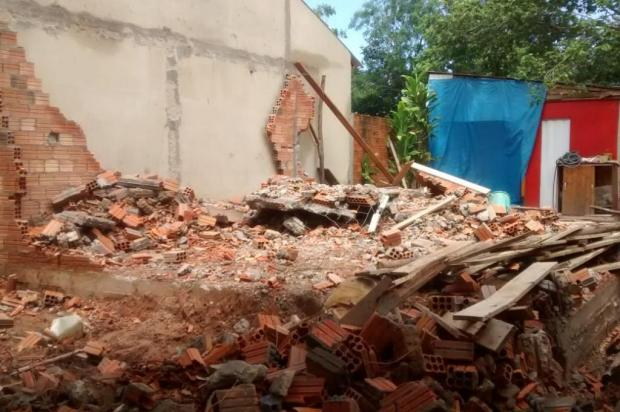 Sobrado erguido por construtora das casas de papel caiu em Cachoeirinha Divulgação/Arquivo pessoal
