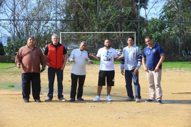 Campo do Vermelhão: comunidade lamenta a perda de verba para construção de quadra Isadora Neumann/Agencia RBS