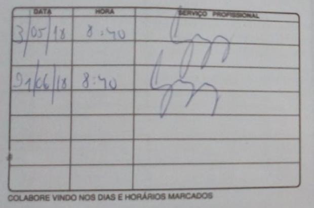 Falta de compressor cancela atendimentos em centro odontológico do IAPI, em Porto Alegre Arquivo Pessoal / Leitor/DG/Leitor/DG