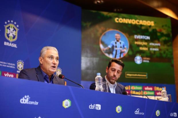 """Cacalo: """"CBF comete mais uma enorme injustiça com o Grêmio"""" Lucas Figueiredo/CBF/Divulgação"""