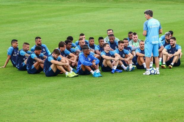 """Cacalo: """"As boas novidades do time do Grêmio"""" Lucas Uebel/Grêmio"""