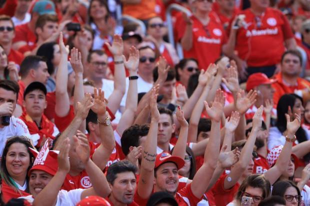 """Lelê Bortholacci: """"Nesta semana, lugar de colorado é no Beira-Rio quarta e domingo"""" Carlos Macedo/Agencia RBS"""