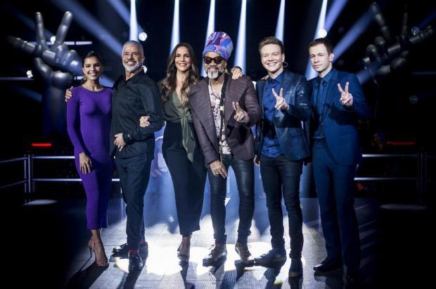 """""""The Voice Brasil"""": veja como ficaram os times após o fim da fase de batalhas TV Globo/Divulgação"""