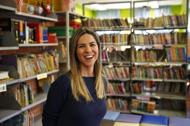 Com criatividade, professora de Porto Alegre incentiva a leitura Anderson Fetter/Agencia RBS