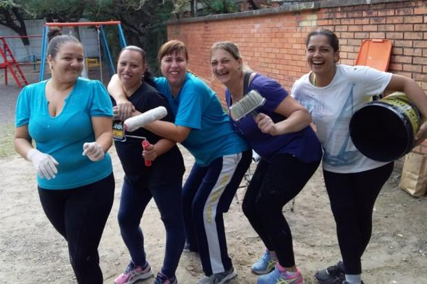 Mães organizam mutirão para fazer limpeza em escola na zona norte de Porto Alegre Arquivo Pessoal / Leitor/DG/Leitor/DG
