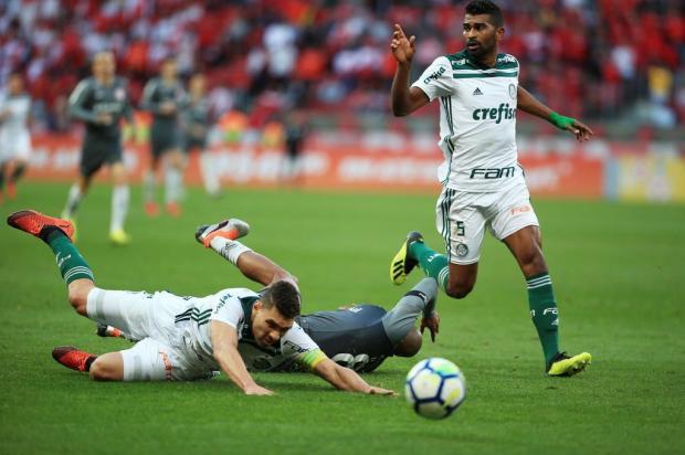 """Lelê Bortholacci: """"Palmeiras não teve vergonha de fazer cera durante os 90 minutos"""" Jefferson Botega/Agencia RBS"""