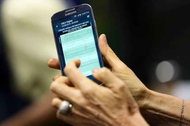 Condutores terão acesso a documentos do carro na versão digital Marcelo Camargo / Agência Brasil/Agência Brasil