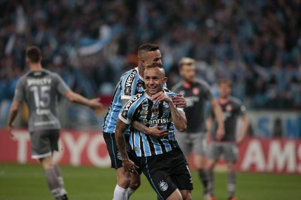 """Luciano Périco: """"Seria uma grande injustiça a eliminação gremista na Arena"""" André Ávila/Agencia RBS"""