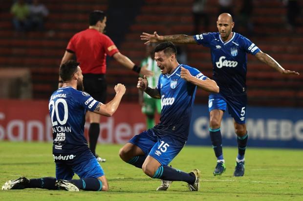 """Cacalo: """"Começou a campanha para desvalorizar o adversário do Grêmio na Libertadores"""" JOAQUIN SARMIENTO / AFP/AFP"""