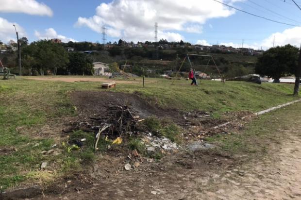 Sem ação da prefeitura, moradores organizam vaquinha para reformar praça, em Viamão Arquivo Pessoal / Leitor/DG/Leitor/DG