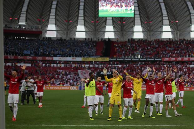 """Lelê Bortholacci: """"Foi um jogo feio, mas uma vitória linda do Inter"""" Jefferson Botega/Agencia RBS"""