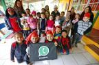 """Projeto em escola de Nova Santa Rita estimula a escrita com """"WhatsApp analógico"""" Félix Zucco/Agencia RBS"""
