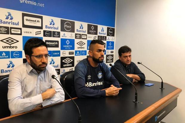 """Luciano Périco: """"Gre-Nal de domingo ainda não terminou"""" Eduardo Gabardo/Agência RBS"""