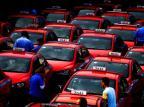 Prefeitura de Porto Alegre vê como positiva queda no número de taxistas Félix Zucco/Agencia RBS