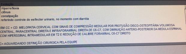 Em Canoas, paciente internado espera há mais de um mês por cirurgia Arquivo Pessoal / Leitor DG/Leitor DG
