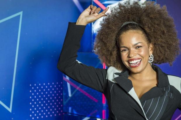 """""""PopStar"""": Jeniffer Nascimento e Samantha Schmütz arrasam cantando Beyoncé e Rihanna Paulo Belote/Gshow"""